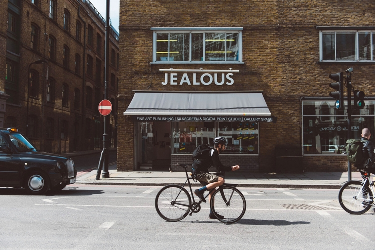 London print studio Jealous dom - drublik | ello