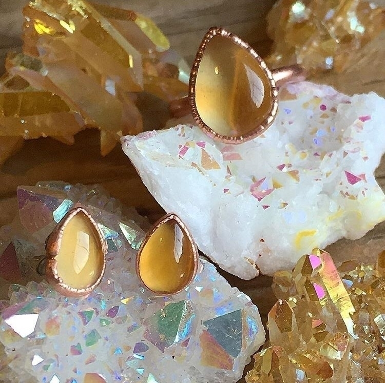 Loving warm tones shot custom c - kqjewelrydesigns | ello