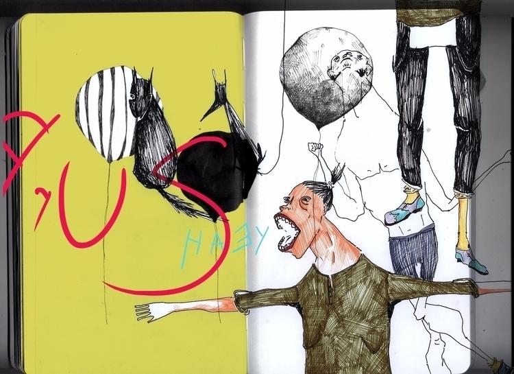 Yeah - illustration, illustrationart - mananiko_amarilla | ello