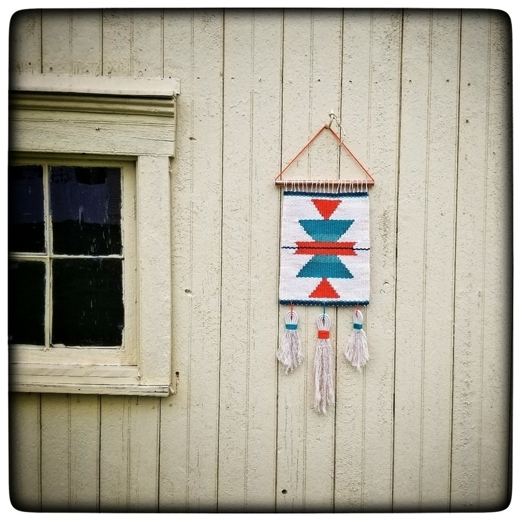 retro style wall hanging custom - darlingweavings | ello