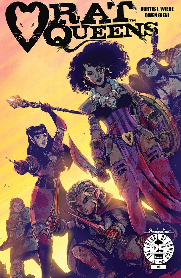 Rat Queens Vol. 2 Review huntin - comicbuzz   ello