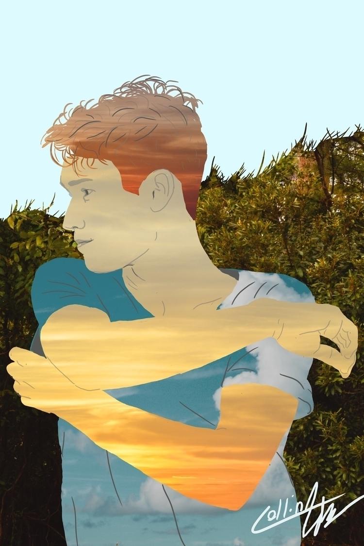 Digital portrait landscape phot - sketch_study | ello