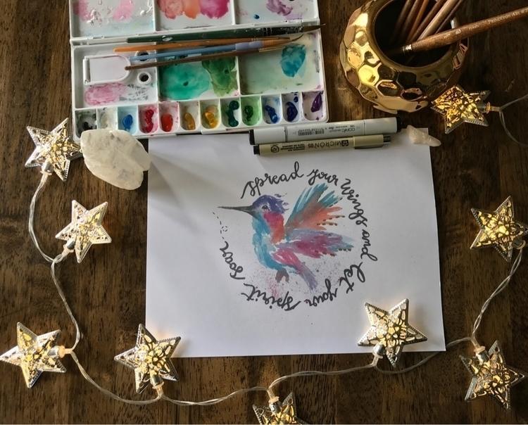 Spread wings spirit soar hummin - besitosandgiggles | ello