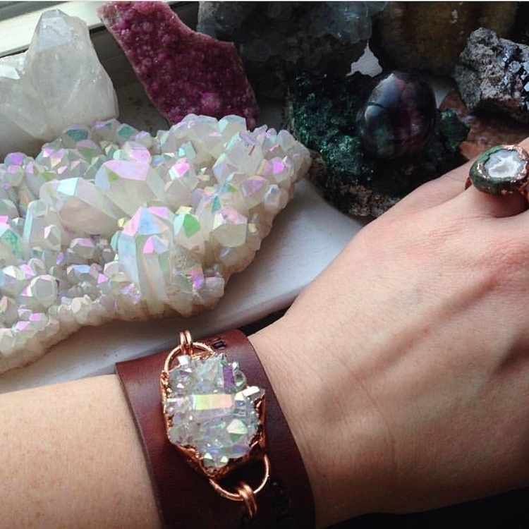 angelaura, cuffbracelet, unique - wingostarrjewelry | ello