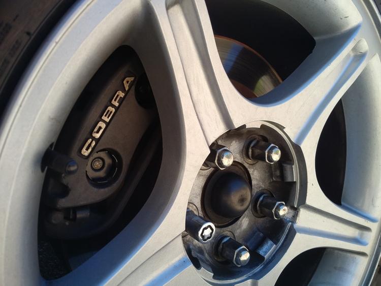 PBR brake caliper Mustang Cobra - herpderp06 | ello