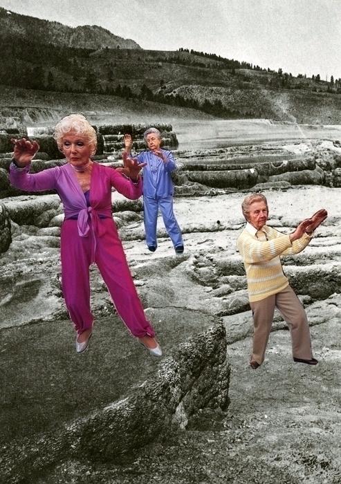 'OGs (Original grandmas)' Handm - alejandrobeltran | ello