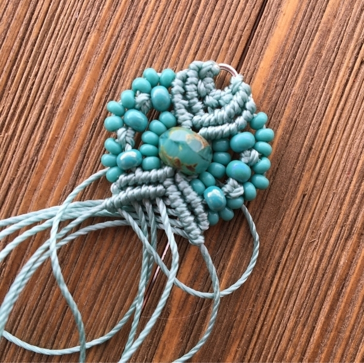 earrings coming - hkmacramejewelry | ello
