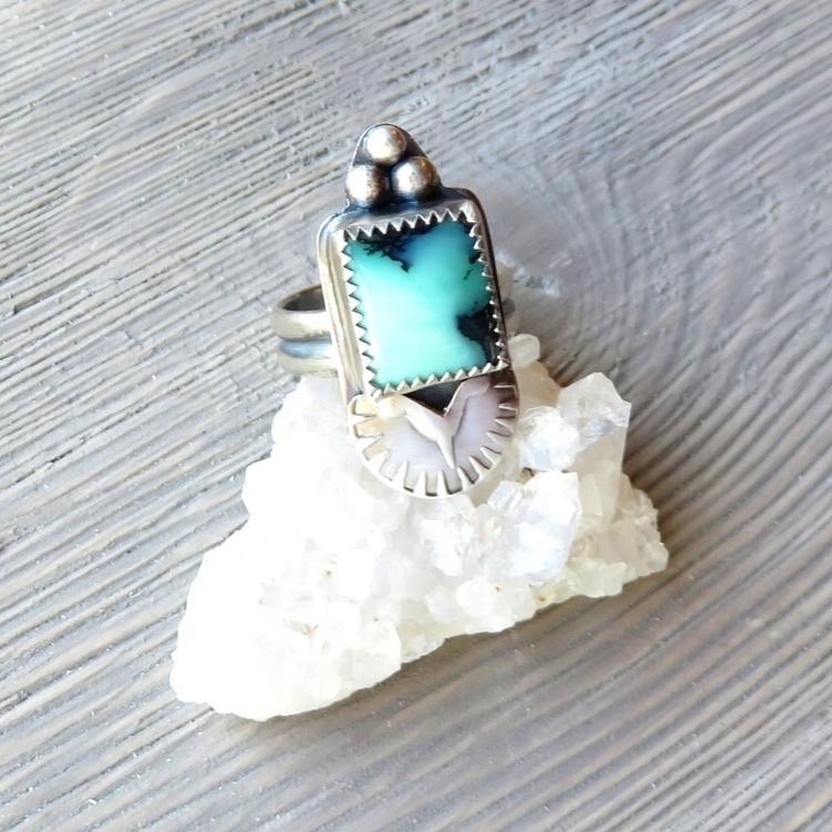 Emerald City Variscite fun - jewelry - awildviolet | ello