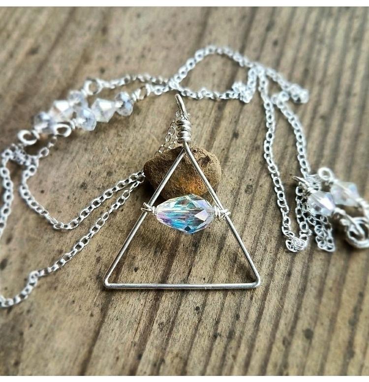 Trinity Necklaces - eclecticriverdesigns | ello