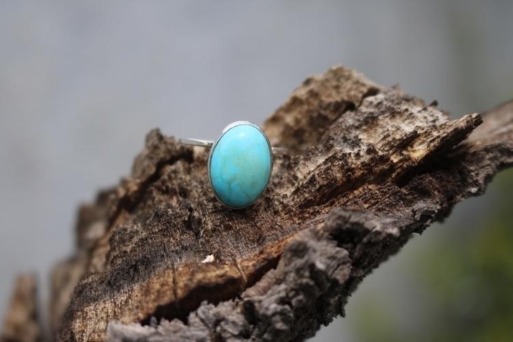 Howlite turquoise sterling silv - gavvistone   ello