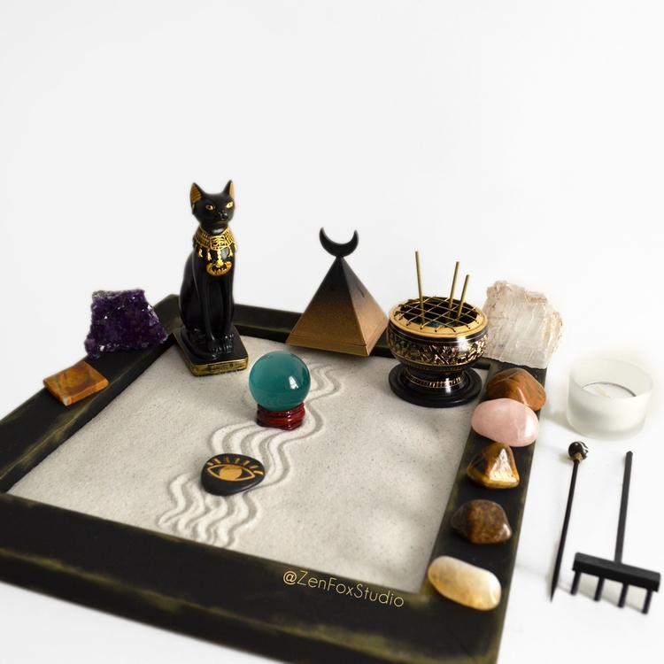 Bastet Zen Garden added shop! L - zenfoxstudio | ello