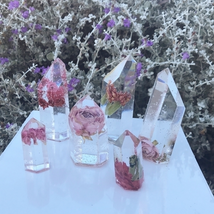 preview resin crystals auctioni - jessashleydesigns | ello