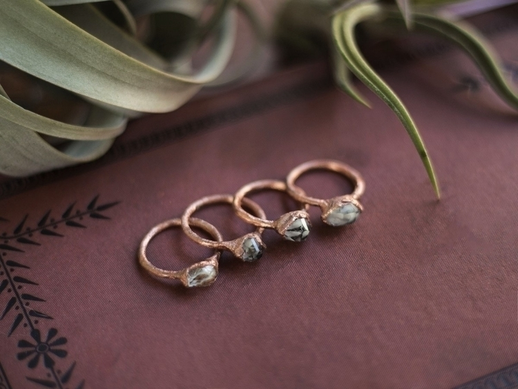 Herkimer Diamond Stacker Rings  - bainiel | ello