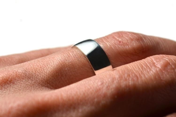 Dome Wide Ring Band - classic s - mineralrare | ello