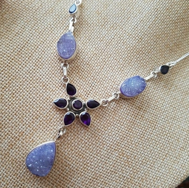 EXCITED BEAUTIFUL, AMETHYST LAV - islandbreezecrystals | ello