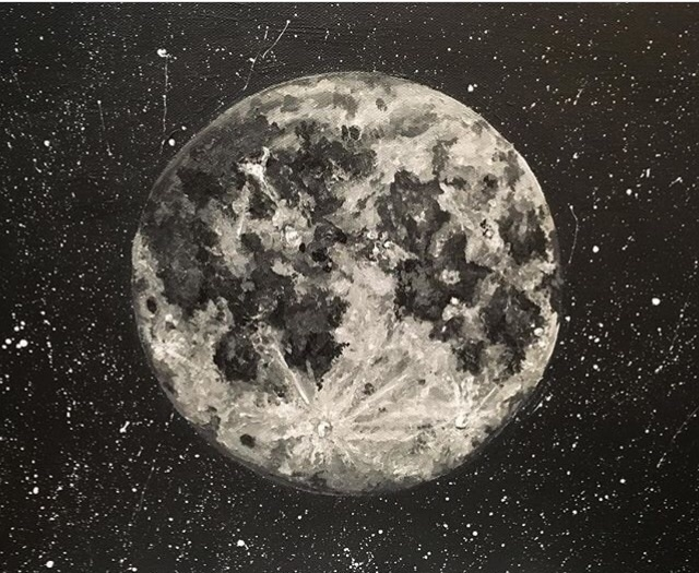 Dreaming stars moon ready sleep - laureltreegallery | ello