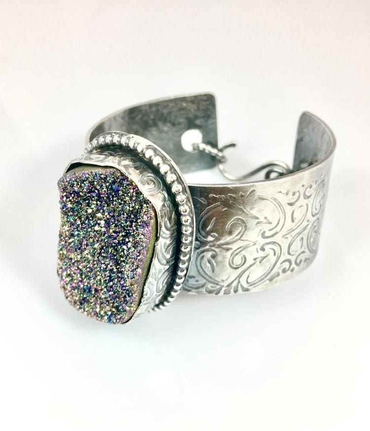 shop Rainbow Aura Cuff Bracelet - sandraannedesigns | ello