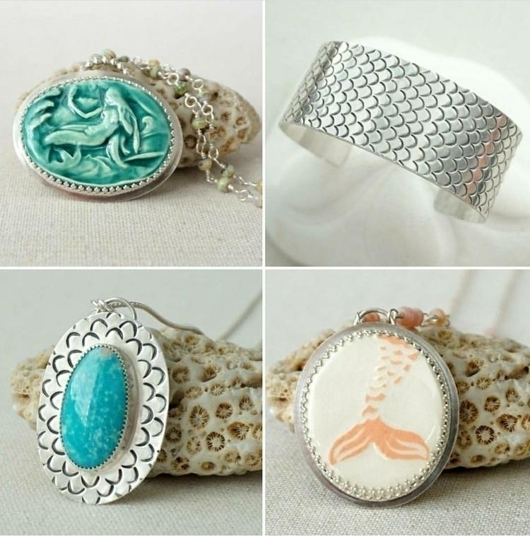 mermaid kick  - mermaidjewelry, jewelry - cjsseashop   ello