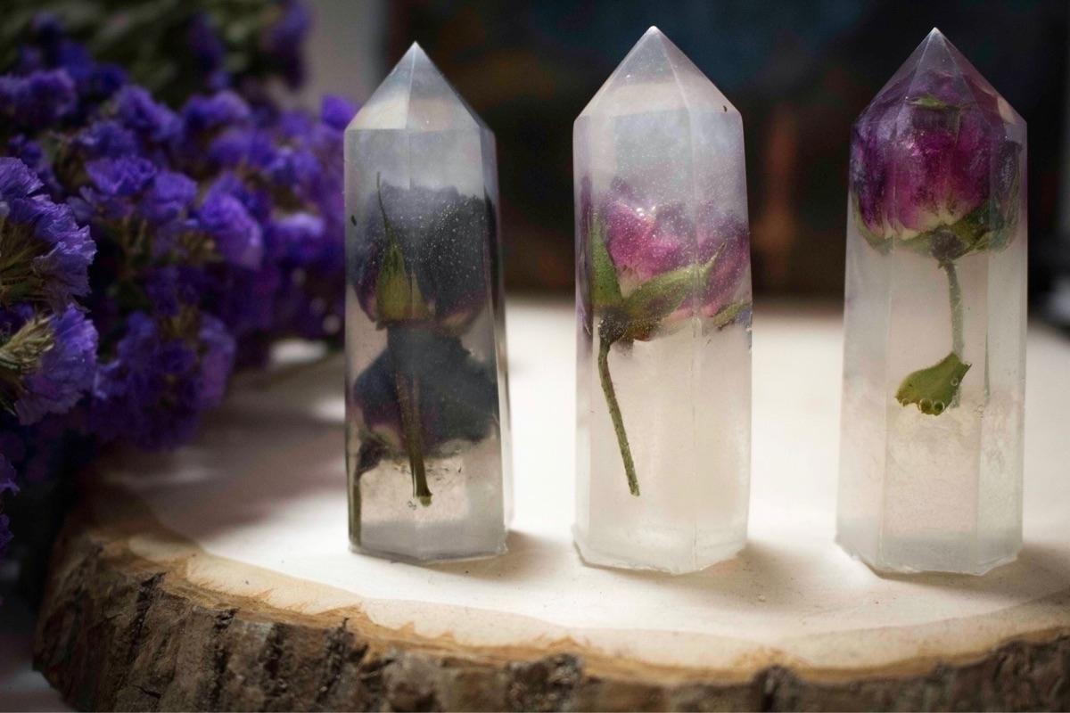 Large Transcendental Crystals t - solarasgarden   ello