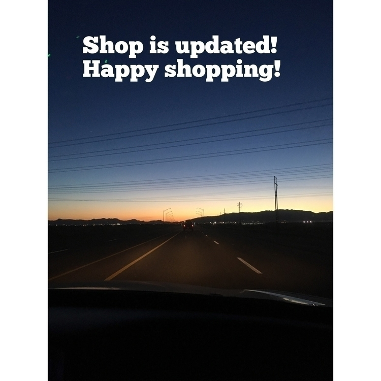 update live! Happy shopping - crystalnecklaces - simplywrappedshop | ello