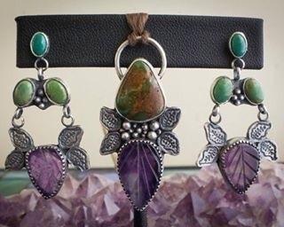 earrings match - naturaljewelry - faywoodsdesigns   ello