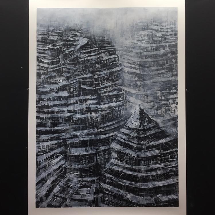 44 62 Acrylic Canvas Paper - art - brianjohnsonart   ello