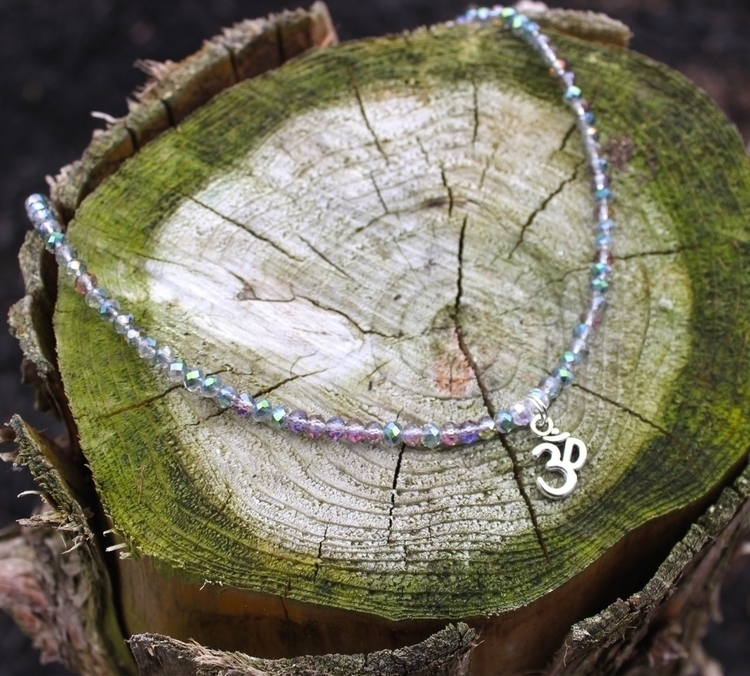 silver OM necklace:unicorn::cry - sunchildsoul | ello