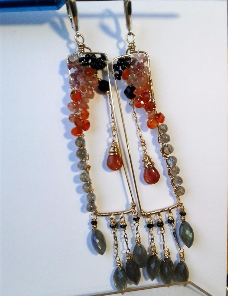 custom shoulder-dusters ears in - amycousinjewelry   ello