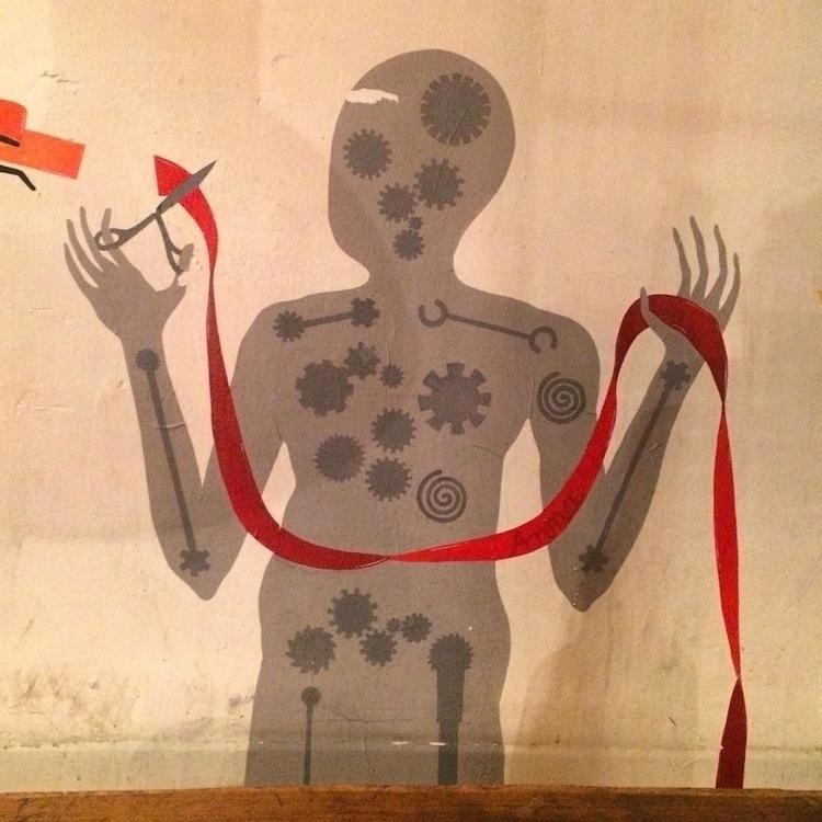 ribbon cutter - artist - talltreesofparis - helliongallery | ello