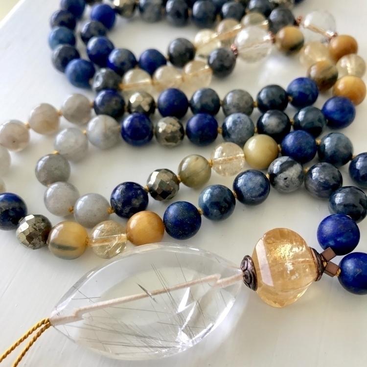 Sneak peek Athena Mala! custom - malamalamajewelry | ello