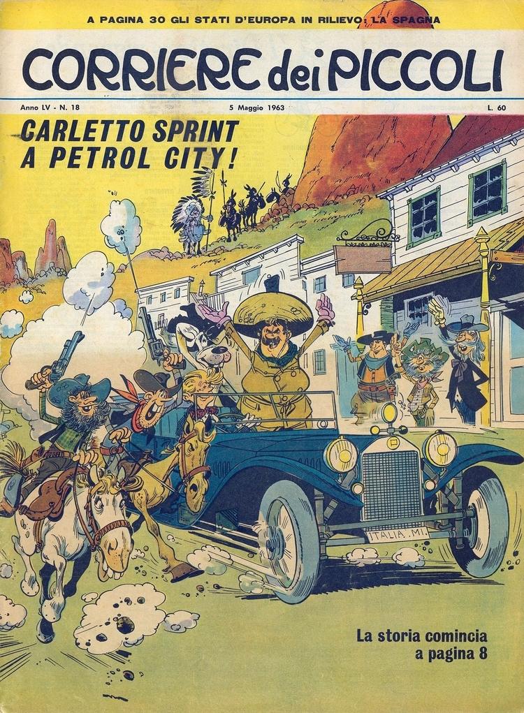 [Carletto Sprint Petrol (di Cim - corrierino   ello