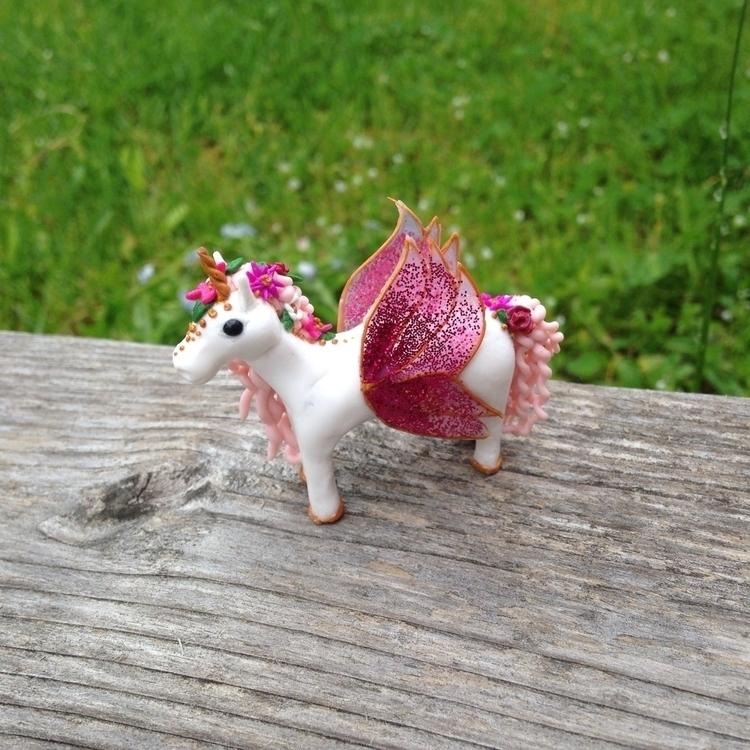fairycorn - unicorn, fairy, spring - veecrafts | ello