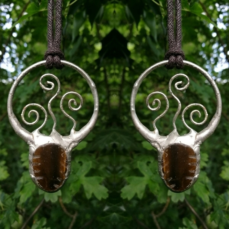 Fiddlehead inspired tigers eye  - terraflux | ello