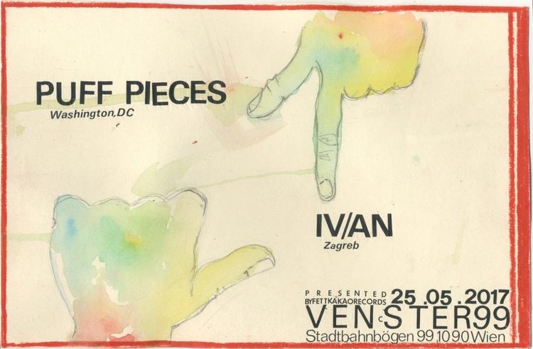 tonight! Puff Pieces playing Ve - fettkakao   ello