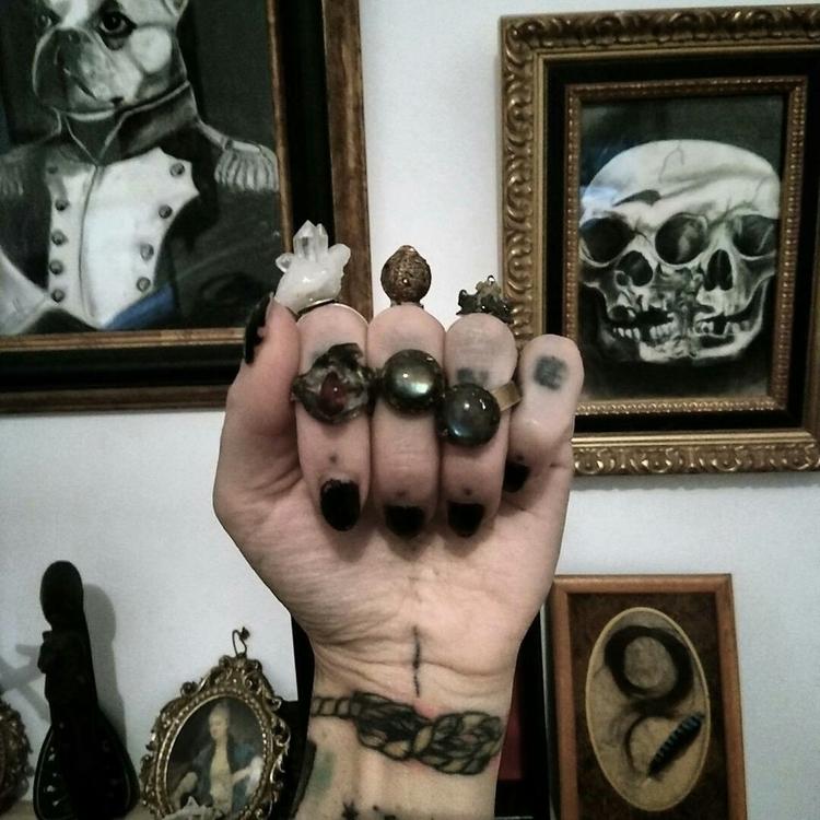 art, jewelry, handmade, crystalhealing - thecrystalhealing | ello