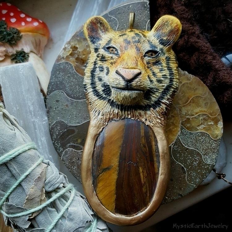 Tiger Spirit Animal Necklace $9 - mysticearth | ello