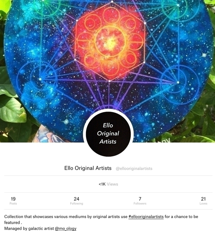 started art share page original - mo_ology | ello