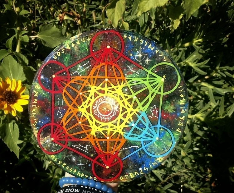 Sun Galaxy Grid, lined runes co - shadowlighthaven   ello