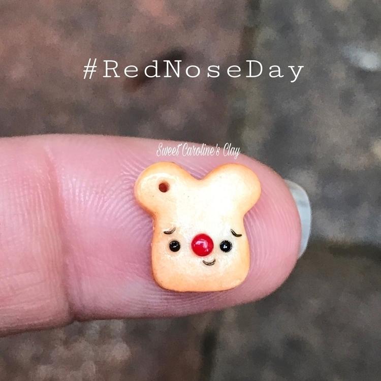 Ello! Ello? Happy - rednoseday! - sweetcarolinesclay   ello