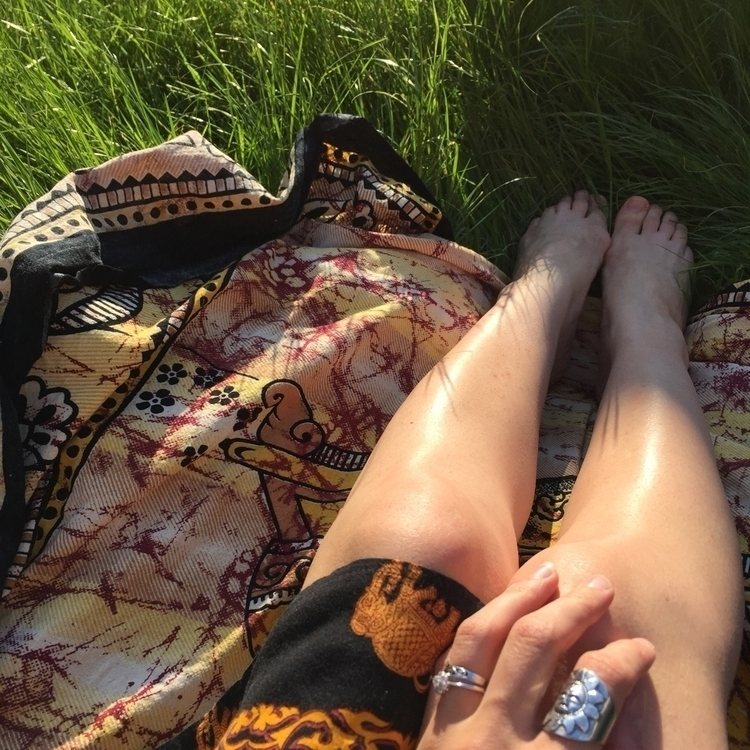 enjoying sunshine today - sun, summer - boho_dreamers | ello