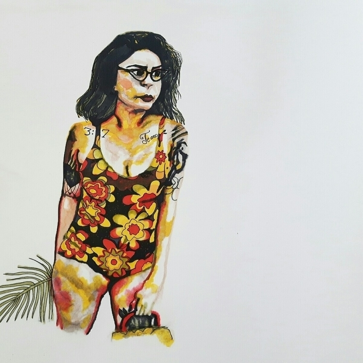 vintageswimsuit, portrait, portraiture - inmynextlife | ello