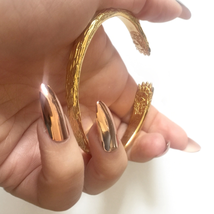 Gold paws, gold claws. sculpted - danayoungjewelry | ello
