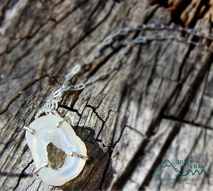 Malibu Agate Druzy Crystal Cave - silverandslag | ello