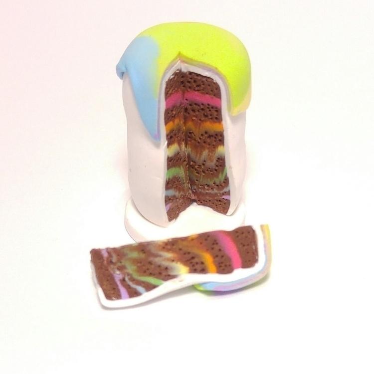 rainbow cake tea party? ......  - raynbowgarden | ello
