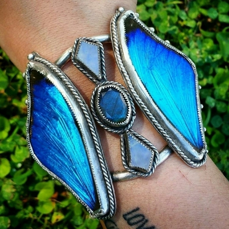 kind butterfly wing cuff featur - newerajewels | ello