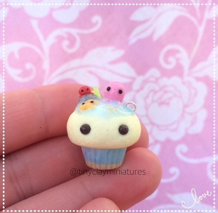 Ello Ocean cupcake hope - tinyclayminiatures | ello
