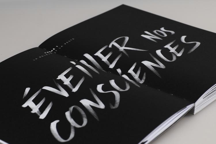 Editorial design La Relève Pest - lencreur | ello