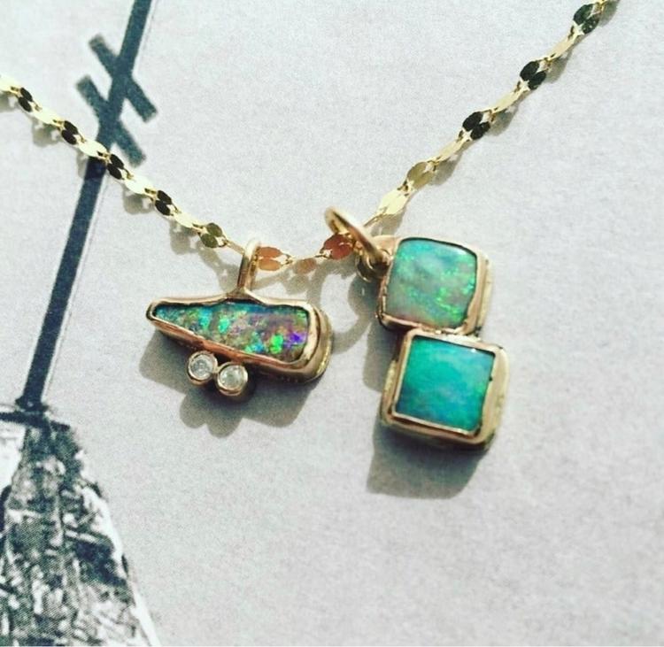 Opal, gold, diamonds, jewelry - 15clove | ello