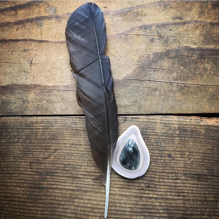 feather today. Inspiration pend - marcellaaustenfeld | ello