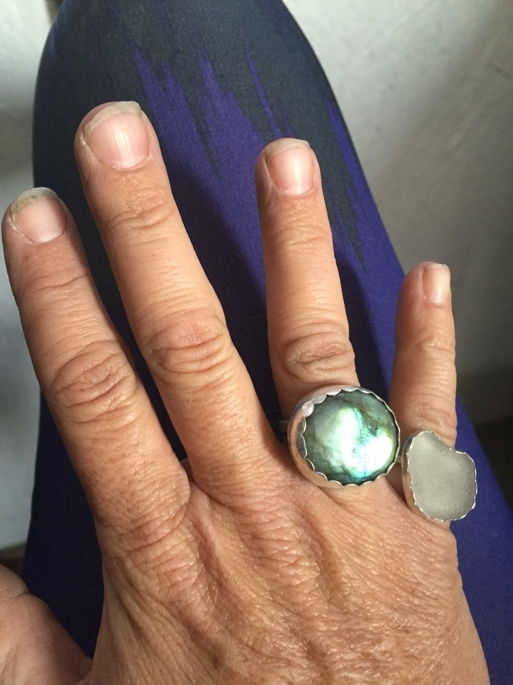 Checking TLP ring - labradorite - thelilypadproject | ello